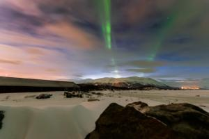 Northern lights at Abisko