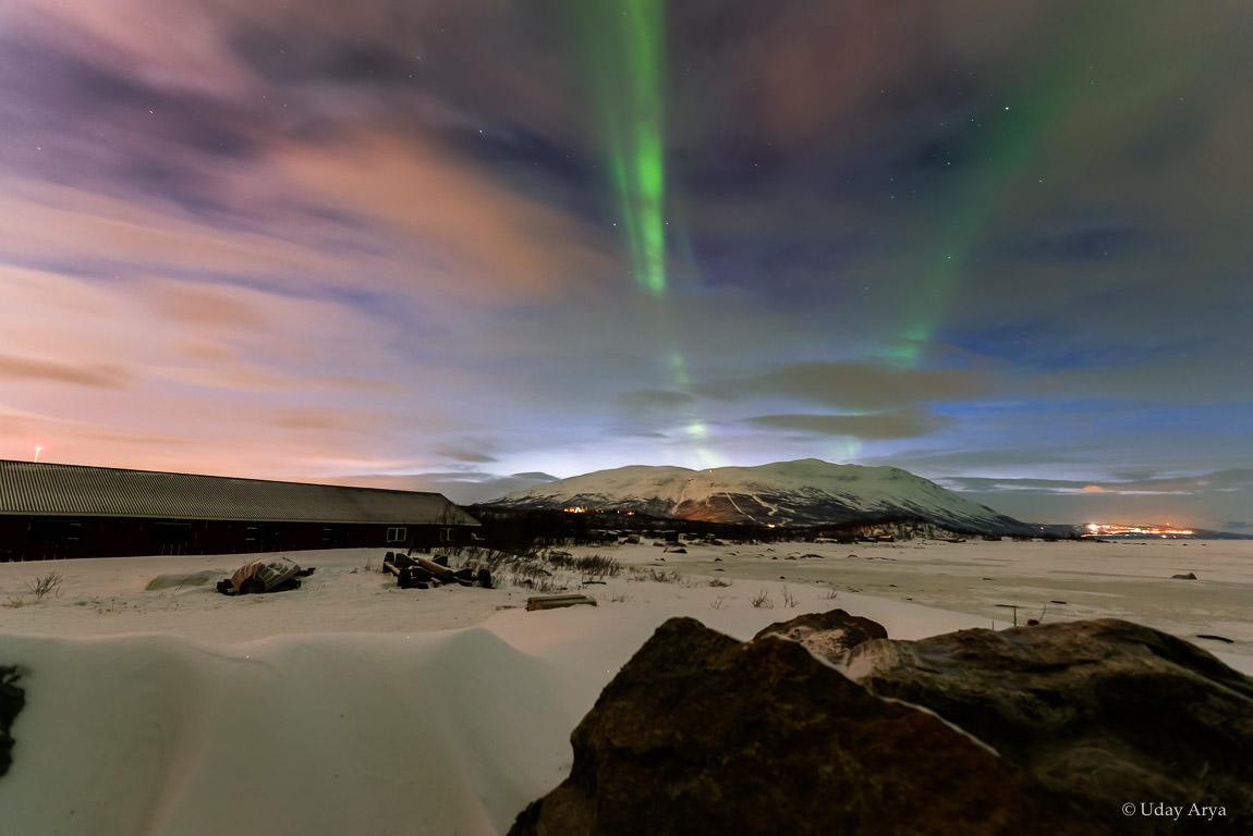 Northern lights at Abisko