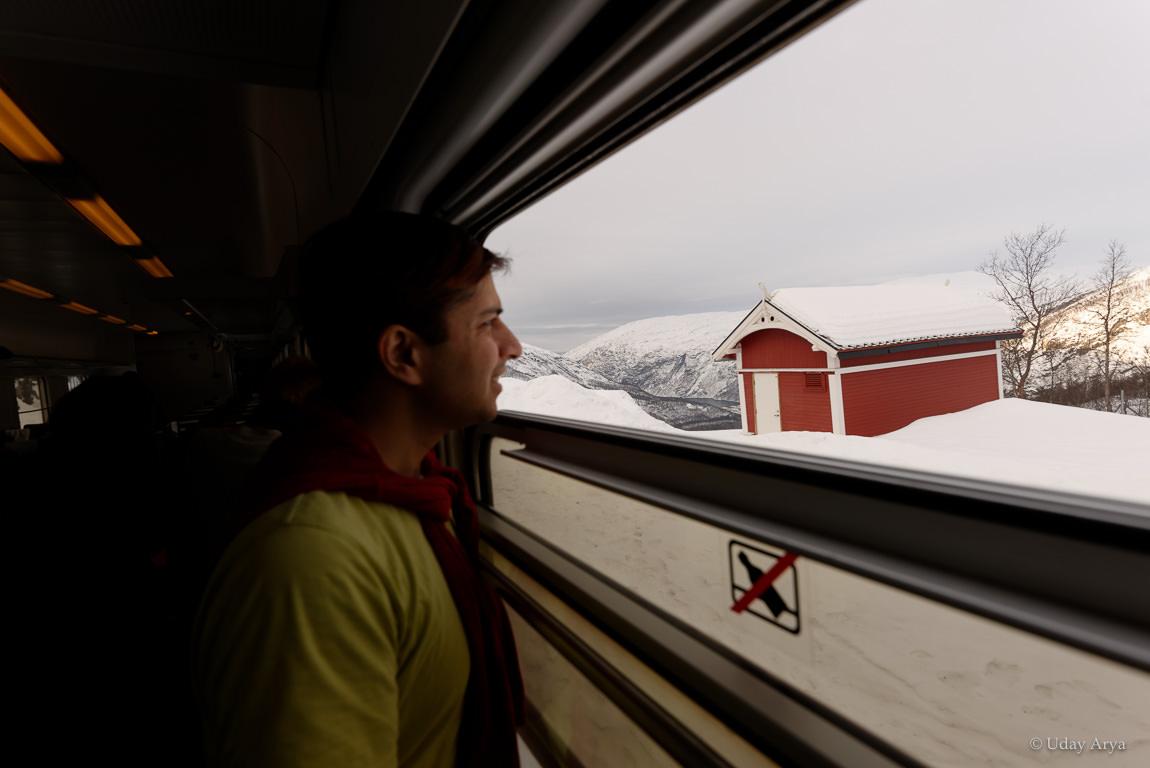 abisko-to-narvik-train